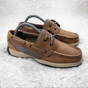 Sperry Brown Boat Shoes